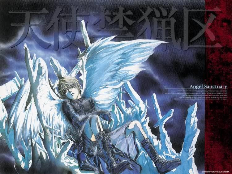 Cartoon Central: Angel Sanctuary Angel_sanctuary