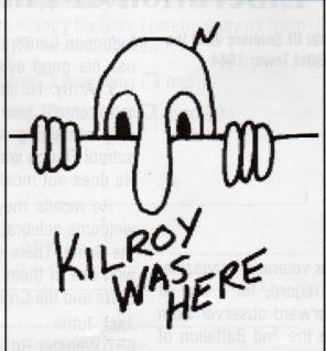 Kilroy was here Kilroywashere