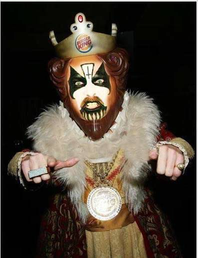 Welcome Home (King Diamond) vs Stranger Aeons (Entombed) BurgerKingDiamond