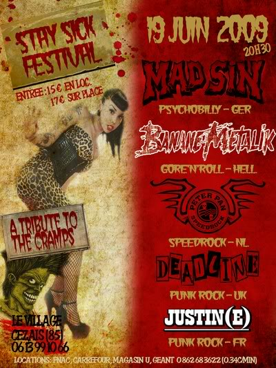 [19 juin 2009] STAY SICK FESTIVAL Kill