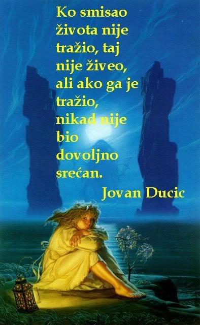 Poezija u slici Kosmisaozivota-JovanDucic