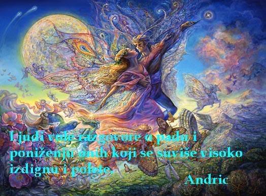 Poezija u slici Ljudivole-Andric