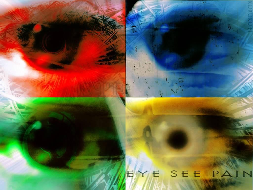 my art work Eye