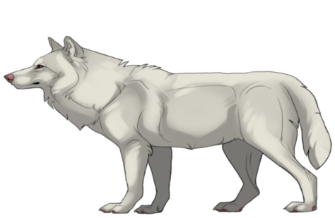 Werewolves or Lycanthropes Albinowerewolf.lineartbyKFCemployee_zpsalnt7dkq