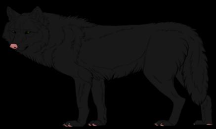 Werewolves or Lycanthropes Blackclan.lineartbykfcemployee_zpsvwrq7hjo
