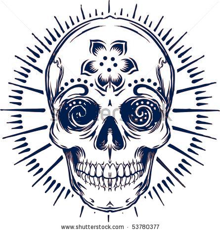 Hijōshiki Dōkeshi (非常識 道化師) Stock-vector-vector-sugar-skull-537803771_zpse500838d