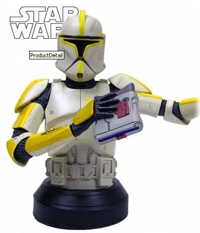 Clone Trooper Commander AOTC Mini bust CloneCommanderAOTC