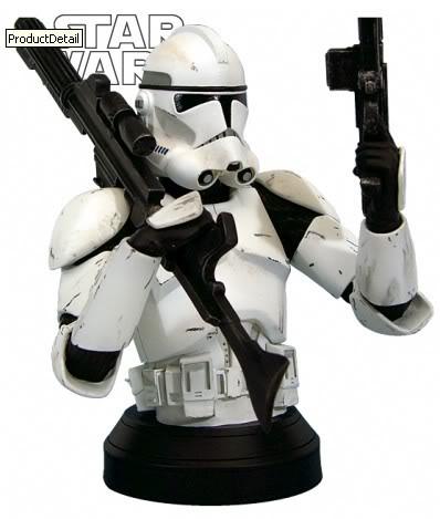 Clone Trooper (White) ROTS Mini bust CloneROTS