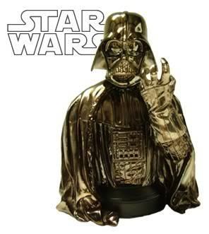 Darth Vader ESB Chrome Mini bust DartVaderChrome