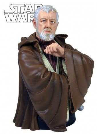 Obi-Wan Kenobi ANH Mini bust OldBen