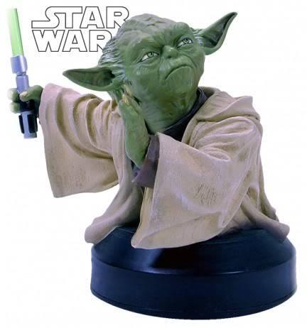 Yoda AOTC Mini bust YodaAOTC
