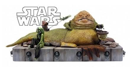 Jabba the Hutt Diorama gentle giant Jabba
