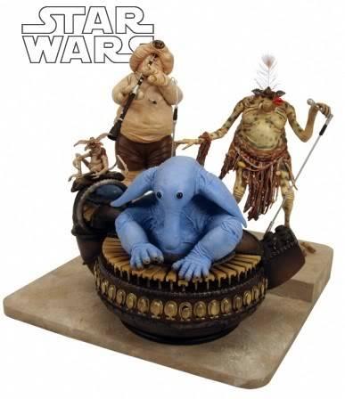 Jabba's Palace Band Diorama JabbasPalaceBand