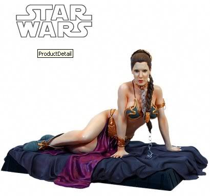 Princess Leia as Jabba's Slave Statue LeiaSlave