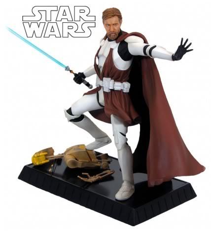 Obi-Wan Kenobi in Clone Trooper Armor Statue ObiWan