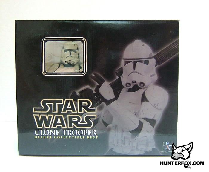 Clone Trooper (White) ROTS Mini bust 111