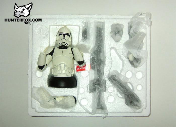 Clone Trooper (White) ROTS Mini bust 112