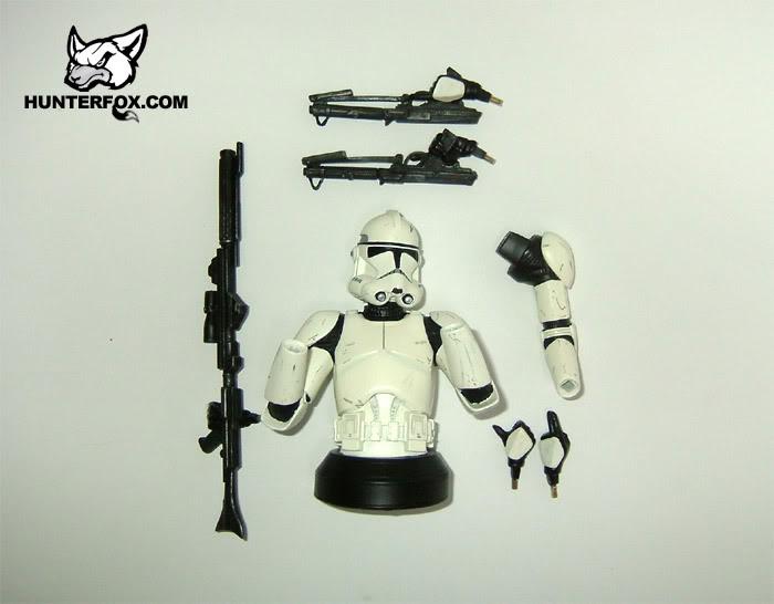 Clone Trooper (White) ROTS Mini bust 113