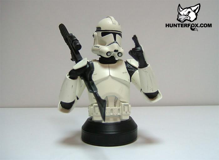 Clone Trooper (White) ROTS Mini bust 114