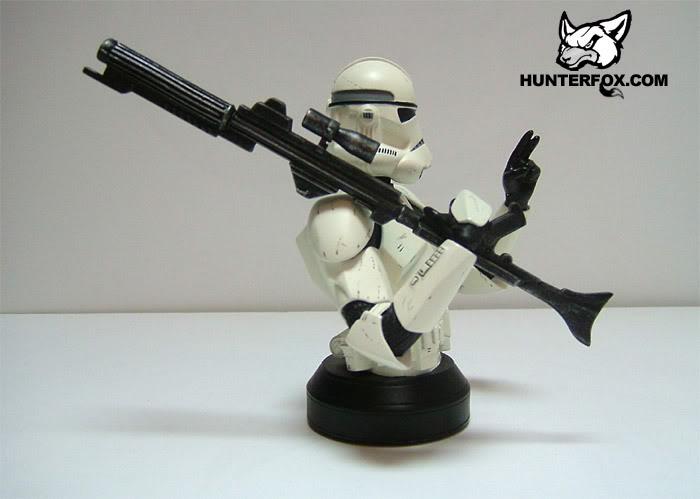 Clone Trooper (White) ROTS Mini bust 115