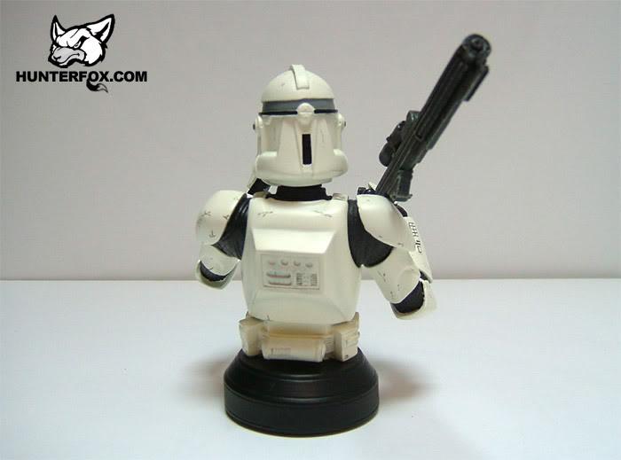 Clone Trooper (White) ROTS Mini bust 116