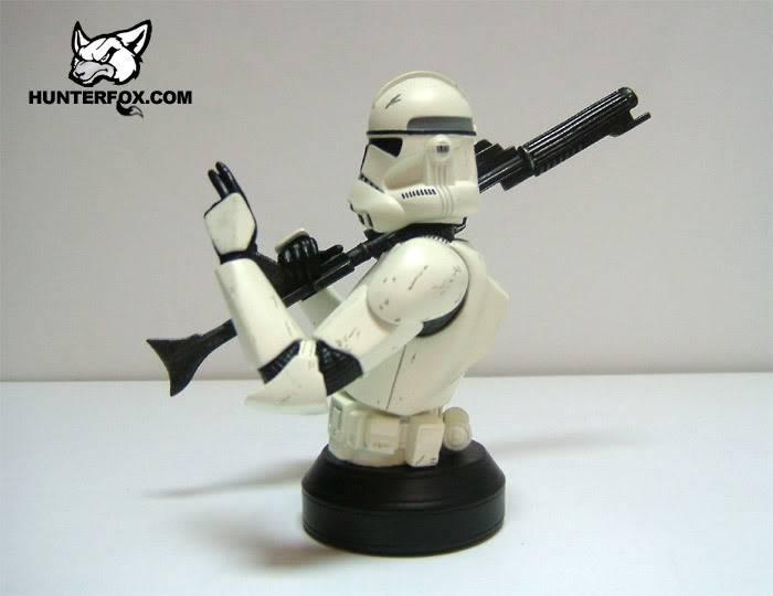 Clone Trooper (White) ROTS Mini bust 117
