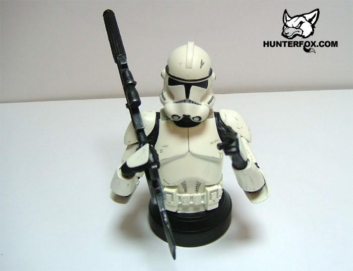 Clone Trooper (White) ROTS Mini bust 118