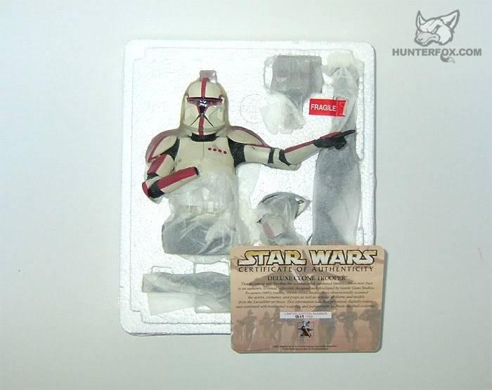Clone Trooper Captain AOTC Mini bust 2000