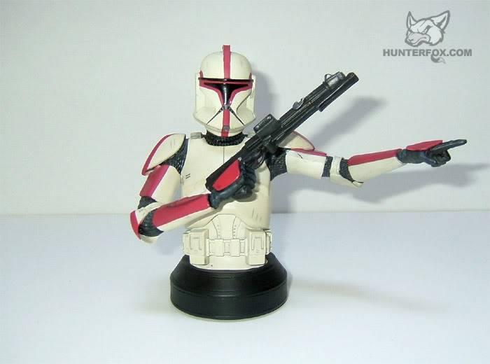 Clone Trooper Captain AOTC Mini bust 3000