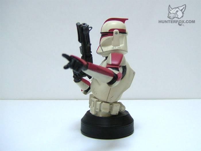 Clone Trooper Captain AOTC Mini bust 4000