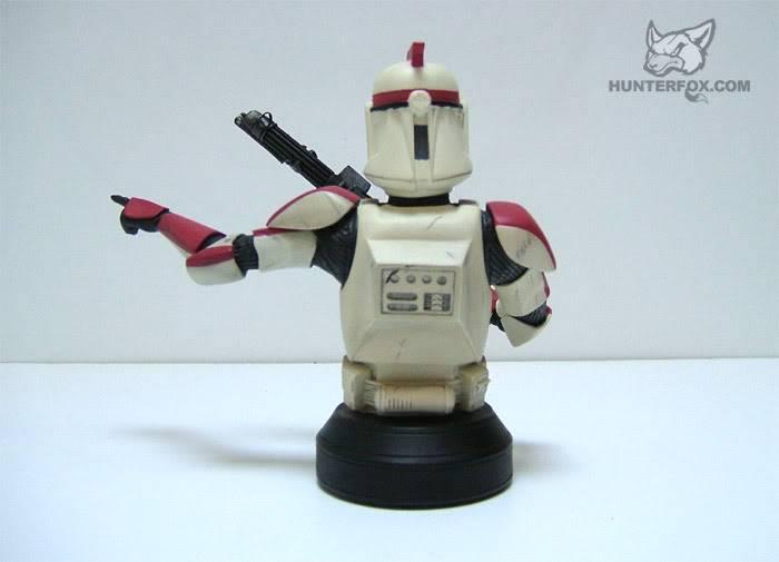 Clone Trooper Captain AOTC Mini bust 5000