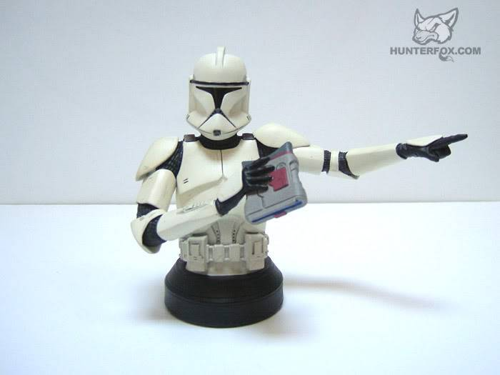 Clone Trooper AOTC Mini bust 54