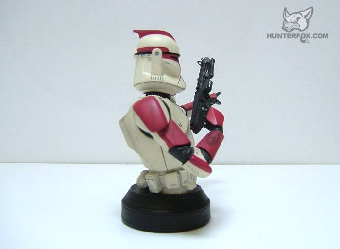 Clone Trooper Captain AOTC Mini bust 6000