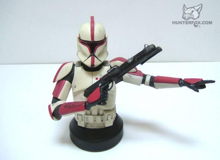 Clone Trooper Captain AOTC Mini bust 7000