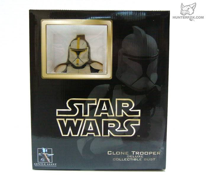 Clone Trooper Commander AOTC Mini bust 81