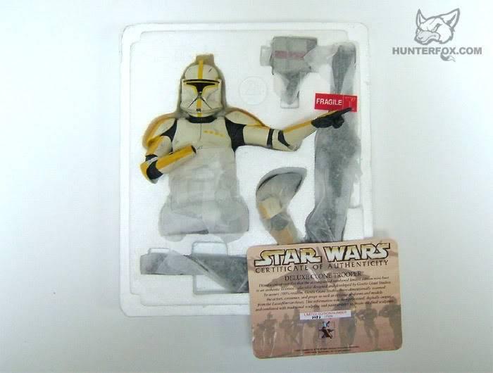 Clone Trooper Commander AOTC Mini bust 82