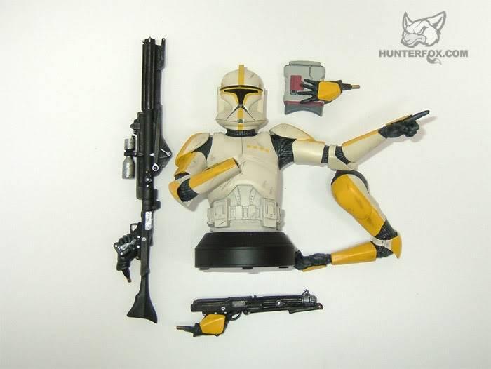 Clone Trooper Commander AOTC Mini bust 83