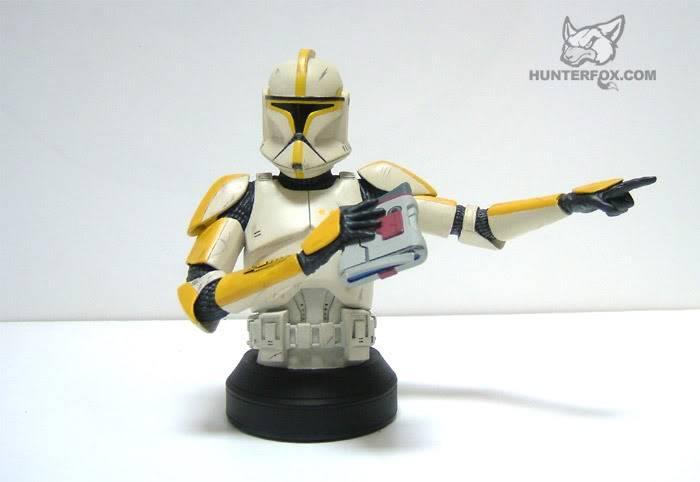 Clone Trooper Commander AOTC Mini bust 84