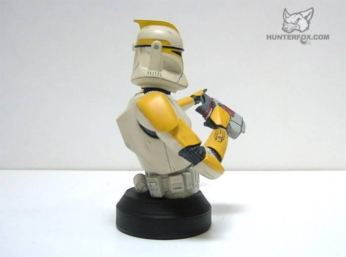 Clone Trooper Commander AOTC Mini bust 85