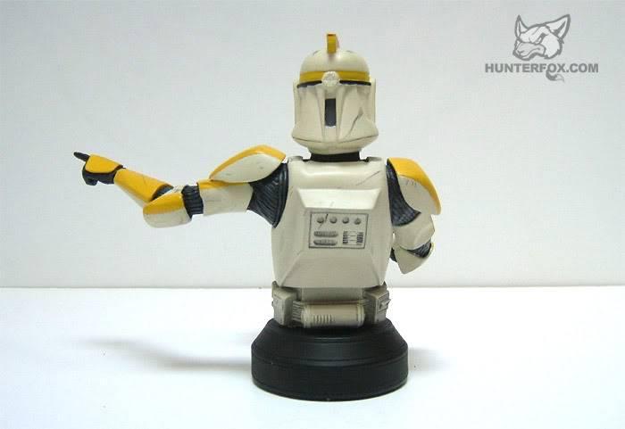 Clone Trooper Commander AOTC Mini bust 86