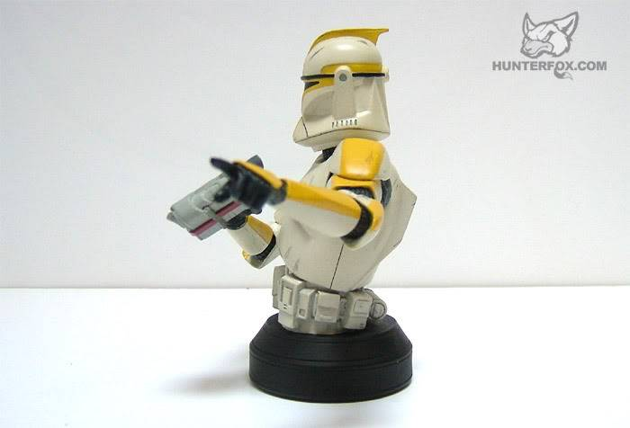 Clone Trooper Commander AOTC Mini bust 87