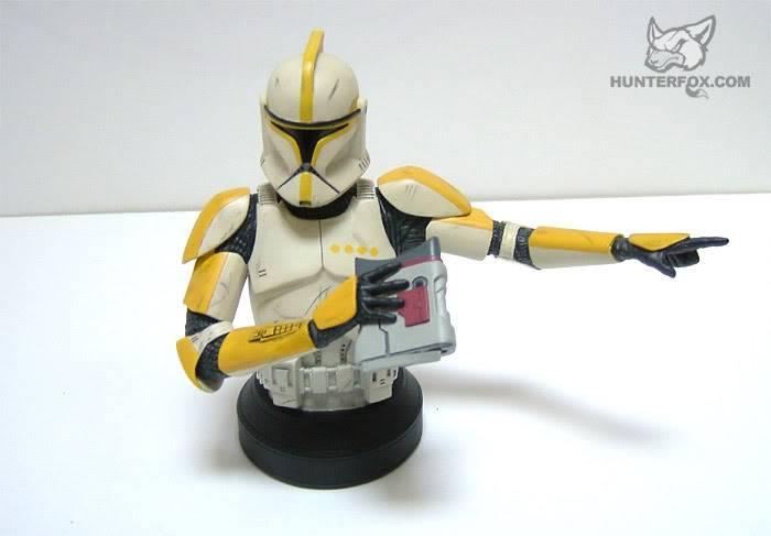 Clone Trooper Commander AOTC Mini bust 88