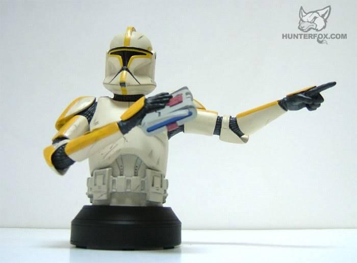 Clone Trooper Commander AOTC Mini bust 89