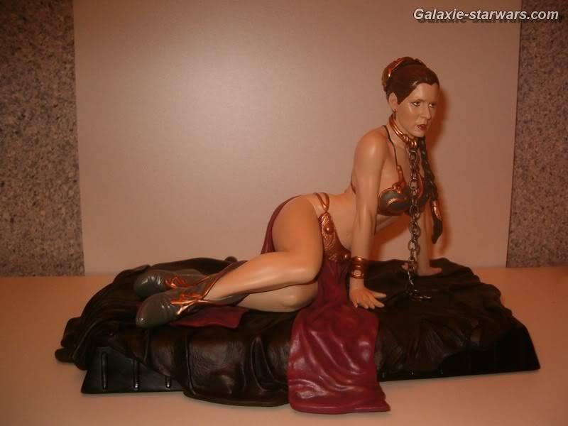 Princess Leia as Jabba's Slave Statue HPIM5783