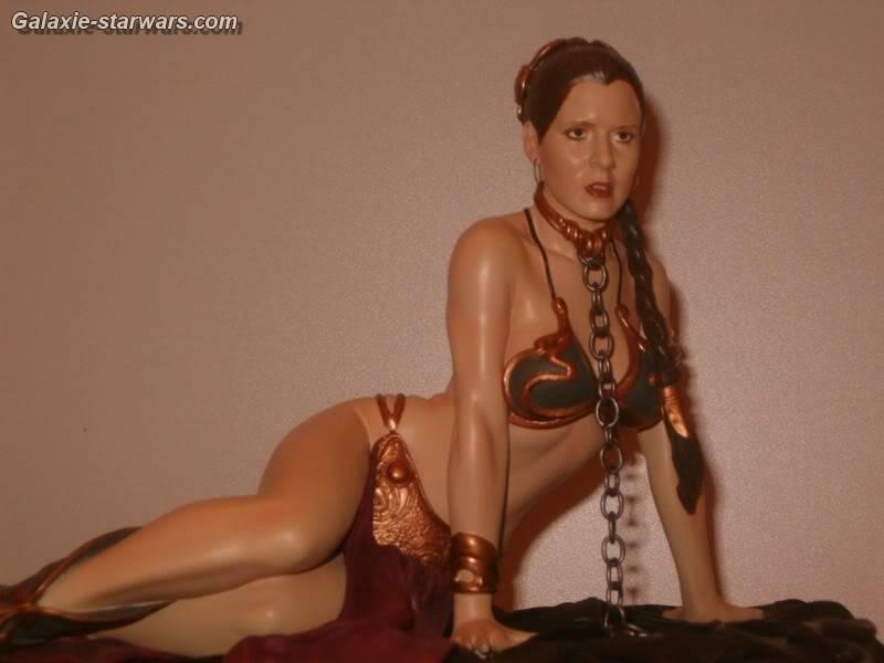 Princess Leia as Jabba's Slave Statue HPIM5792