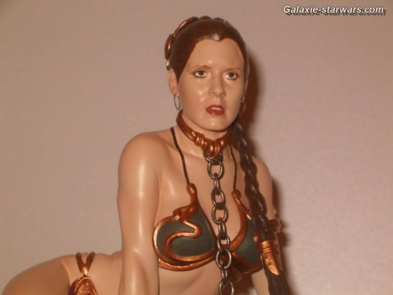 Princess Leia as Jabba's Slave Statue HPIM5793