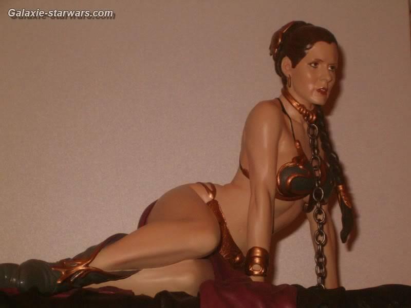 Princess Leia as Jabba's Slave Statue HPIM5801