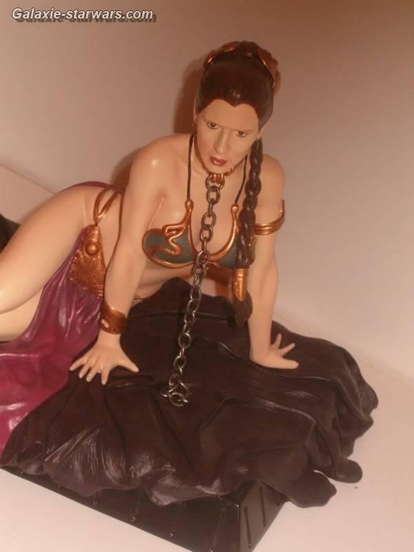 Princess Leia as Jabba's Slave Statue HPIM5803