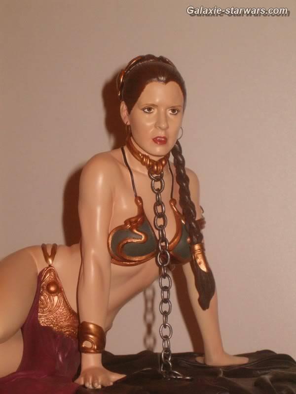 Princess Leia as Jabba's Slave Statue HPIM5809