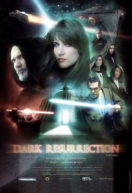 Fan-film - Dark Resurrection Dr_locandina